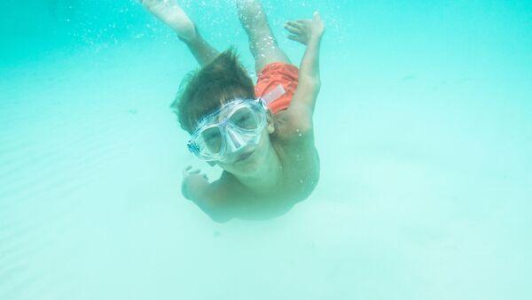 Kluk pod vodou - Sputnik Česká republika