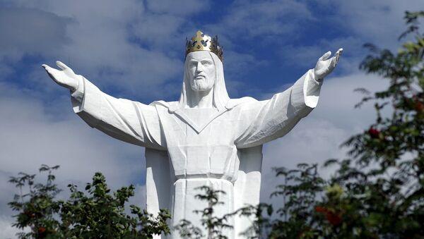 Pomník Ježíše Krista v Świebodzinie - Sputnik Česká republika