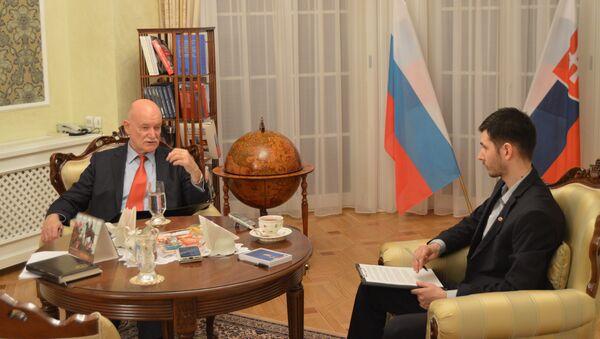 Velvyslanec RF na Slovensku Alexej Fedotov - Sputnik Česká republika