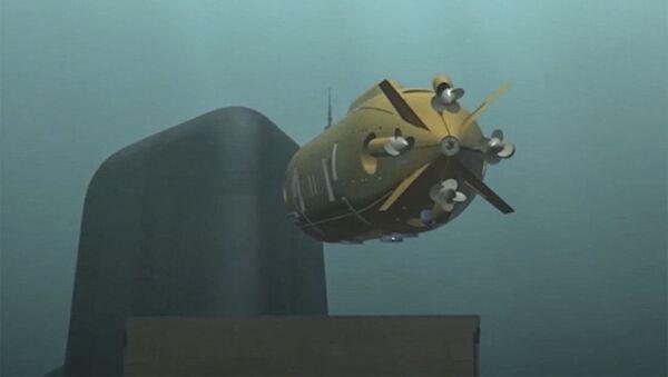 Multifunkční oceánský systém, který byl ukázán během vystoupení Vladimira Putina před Federálním Shromážděním - Sputnik Česká republika
