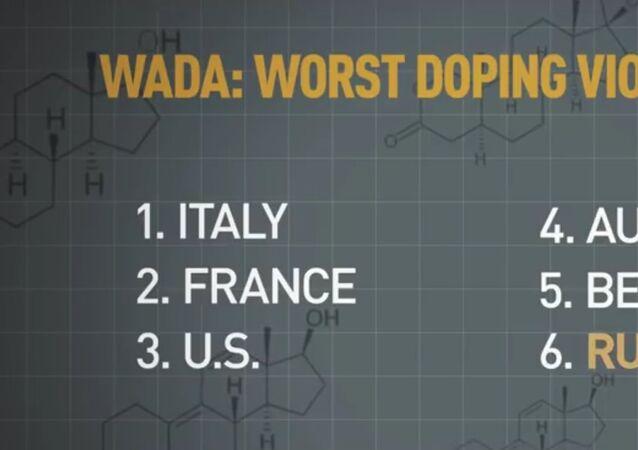 WADA odhalila seznam těch, kdo nejvíc porušuje dopingová pravidla. Rusko není ani v TOP 5