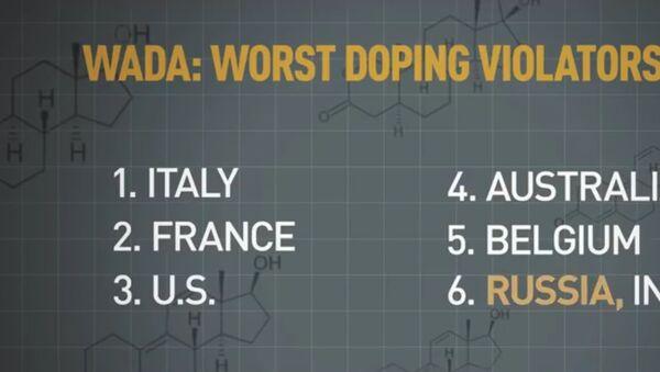 WADA odhalila seznam těch, kdo nejvíc porušuje dopingová pravidla. Rusko není ani v TOP 5 - Sputnik Česká republika