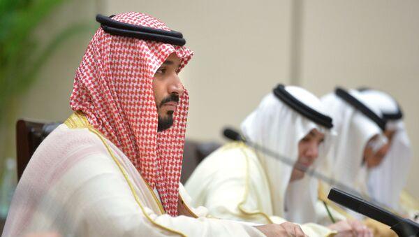 Saúdský korunní princ Mohamed bin Salmán - Sputnik Česká republika
