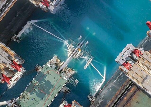Stavba Tureckého proudu