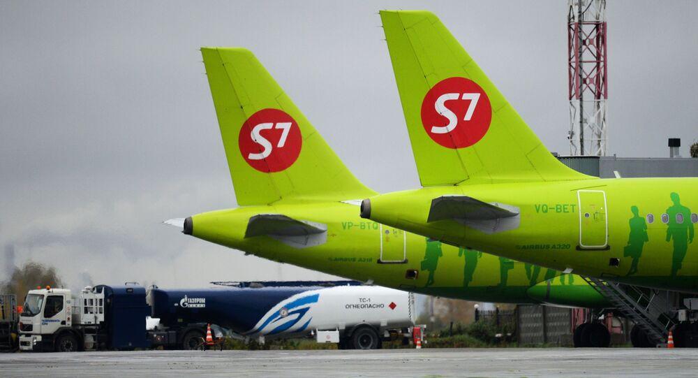 Letadla společnosti S7 Airlines