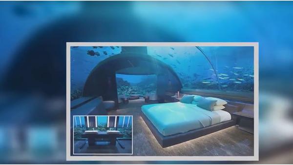Hosté tohoto hotelu na Maledivách budou moci spát mezi žraloky, pokud ovšem usnou - Sputnik Česká republika