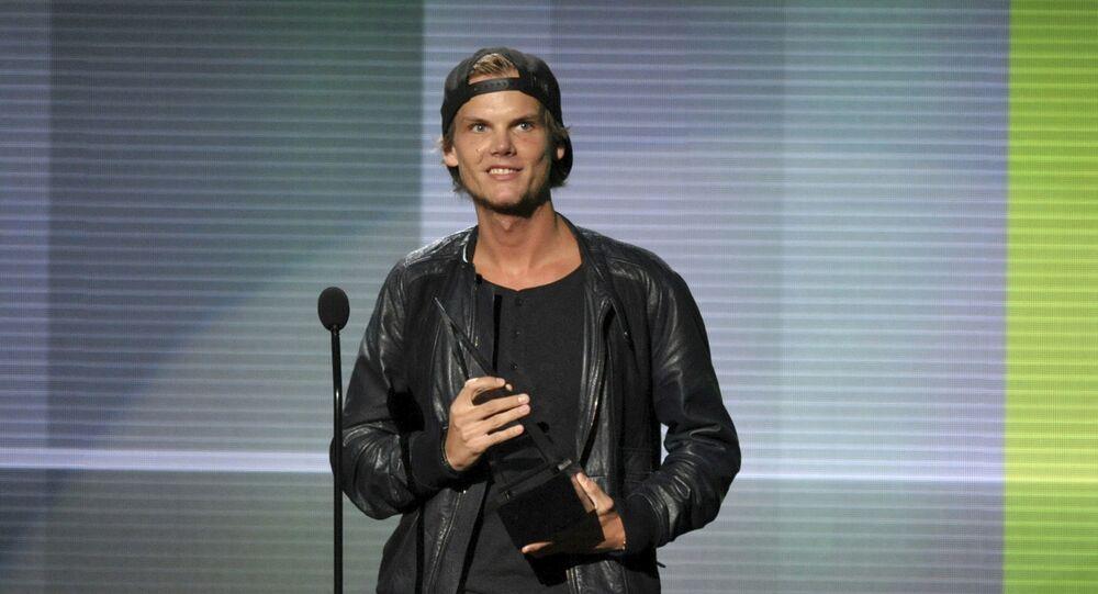 Hudebník Tim Bergling (známější pod uměleckým jménem Avicii)