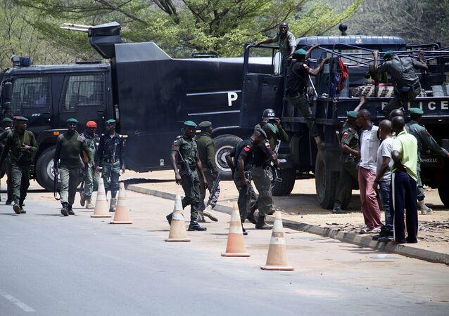 Nigerijské bezpečnostní oddíly (ilustrační foto)