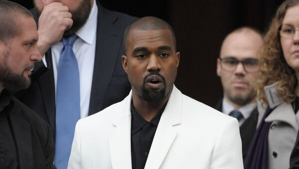 Americký rapper Kanye West - Sputnik Česká republika