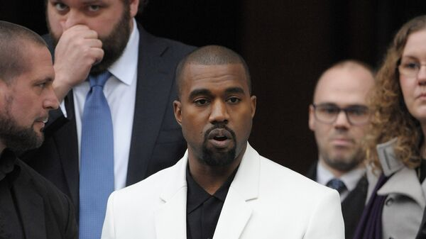 Zpěvák Kanye West - Sputnik Česká republika