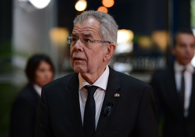 Rakouský spolkový prezident Alexander Van der Bellen