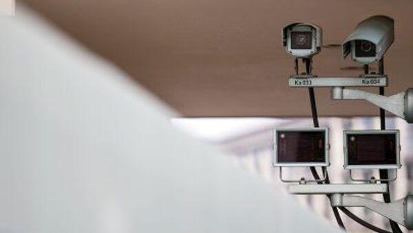Камеры слежения на здании Рейхсканцелярии в Берлине, Германия - Sputnik Česká republika