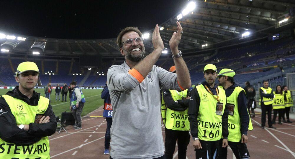 Jurgen Klopp, trenér fotbalového Liverpoolu