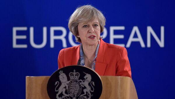 Theresa May - Sputnik Česká republika