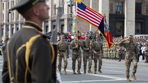 Vojáci NATO v Kyjevě. - Sputnik Česká republika