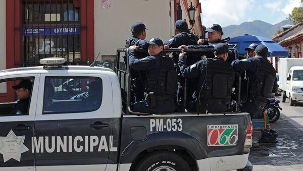 Policejní hlídka v Mexiku - Sputnik Česká republika