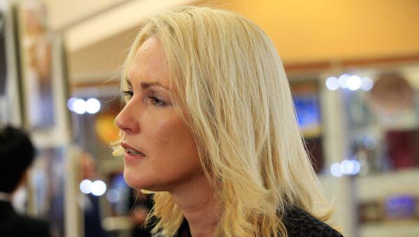 Místopředsedkyně spolkové země Meklenbursko-Přední Pomořansko a místopředsedkyně Sociálnědemokratické strany Německa (SPD) Manuela Schwesigová - Sputnik Česká republika