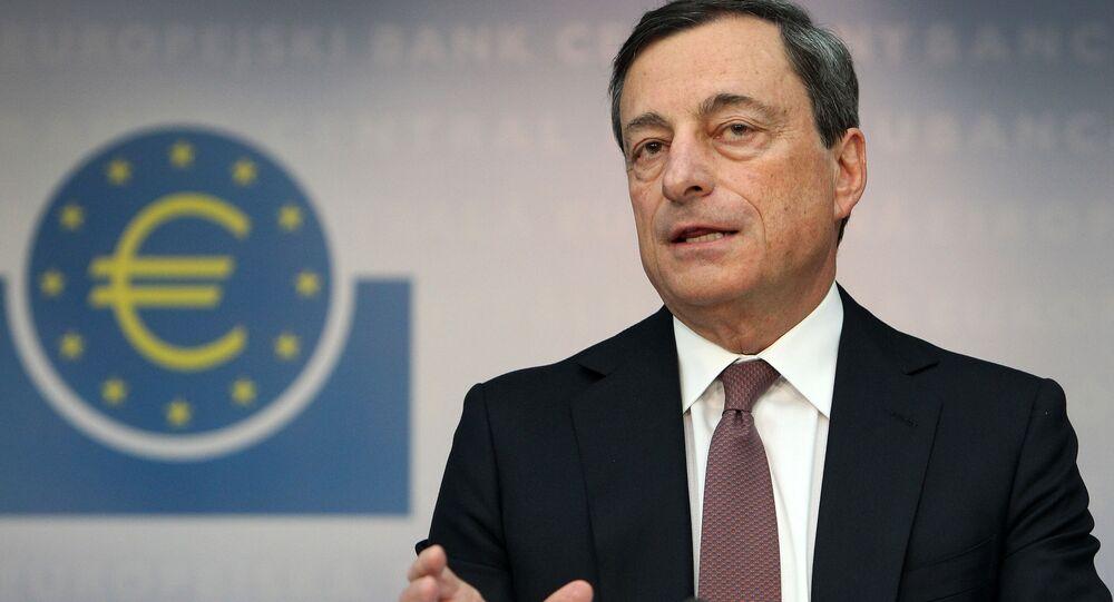 Guvernér Evropské centrální banky Mario Draghi