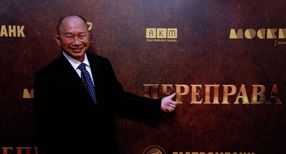 John Woo představuje v Moskvě svůj nový film Převoz