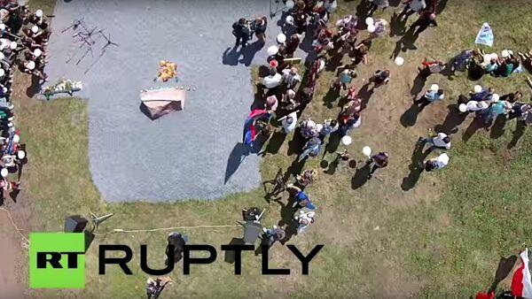 Место крушение рейса MH17 год спустя - Sputnik Česká republika