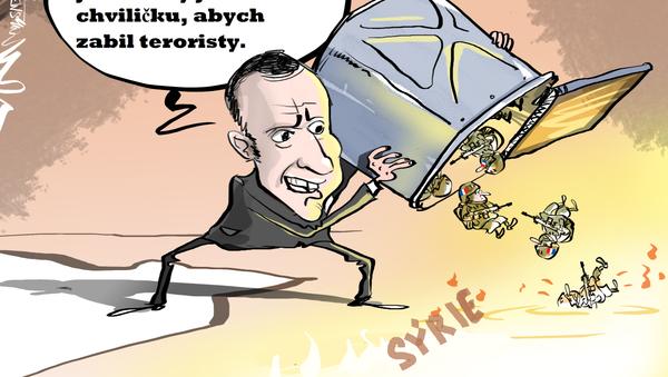 Macronova válka - Sputnik Česká republika