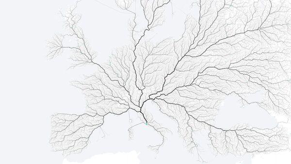 Mapa cest do Říma. - Sputnik Česká republika