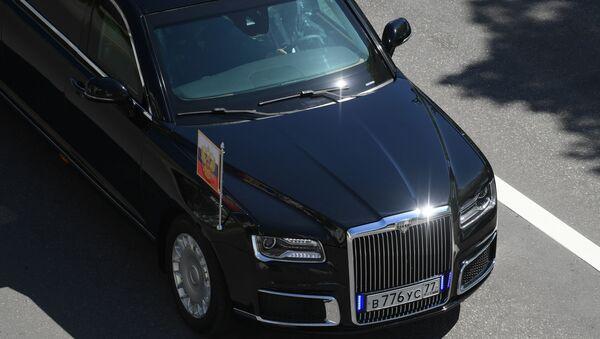Automobil Aurus ruského prezidenta Vladimira Putina - Sputnik Česká republika