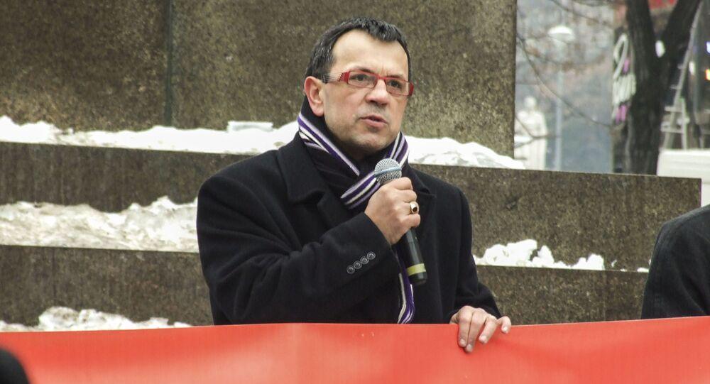 Místopředseda ČSSD Jaroslav Foldyna