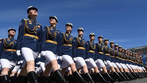 Studentky Vojenské univerzity Ministerstva obrany Ruska - Sputnik Česká republika