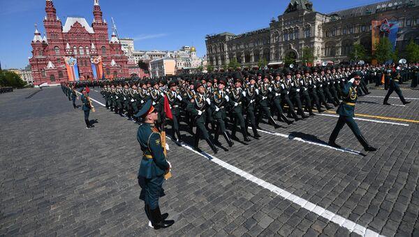 Oslavy dne Vítězství v Moskvě - Sputnik Česká republika