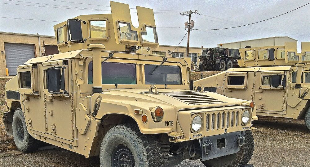 Americké vozidlo HMMWV