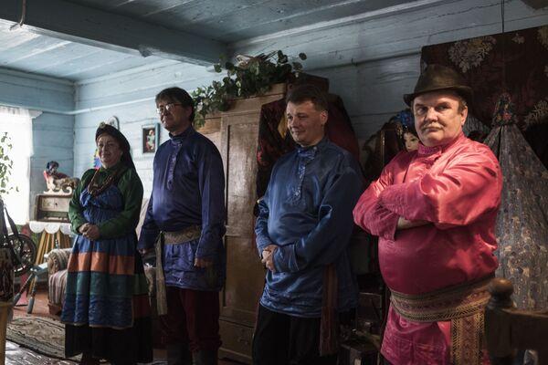 Rodinná vesnice starověrců Tarbagataj v Burjatsku - Sputnik Česká republika