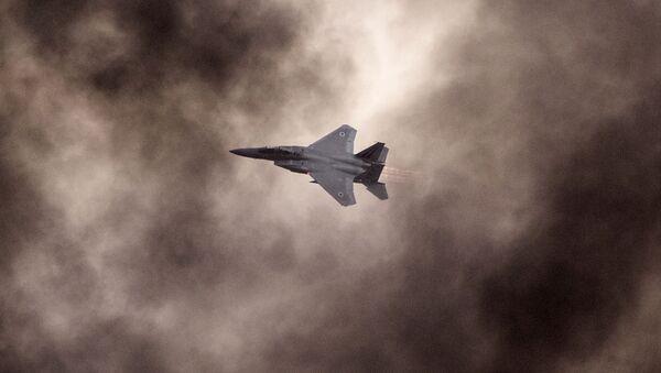 F-15 izraelského letectva - Sputnik Česká republika