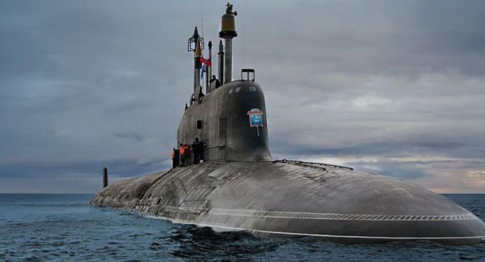 Atomová ponorka projektu 885 Jaseň
