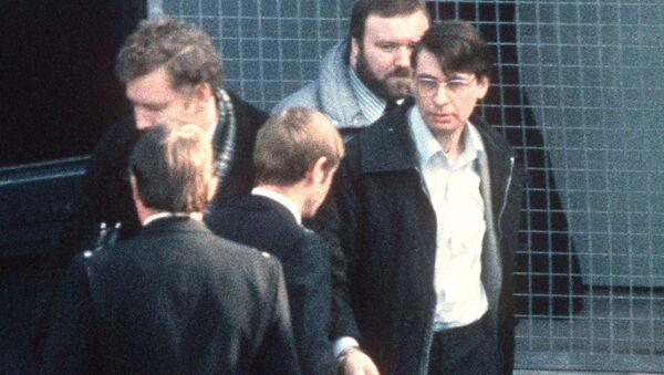 Sériový vrah z Velké Británie Dennis Nilsen - Sputnik Česká republika