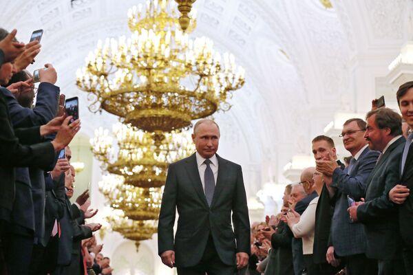 Tento týden v obrázcích: Den vítězství, inaugurace a politické události - Sputnik Česká republika
