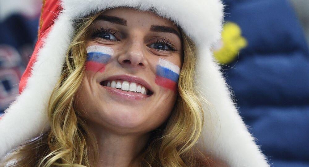 A Russian fan (File)
