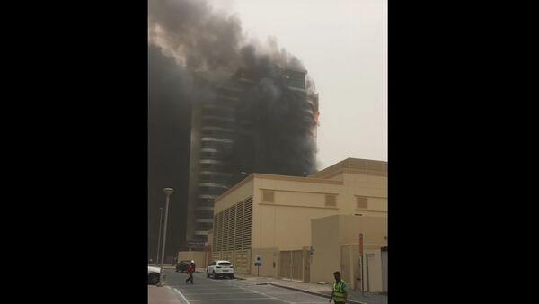 Požár zničil mrakodrap Zen Tower v Dubaji - Sputnik Česká republika