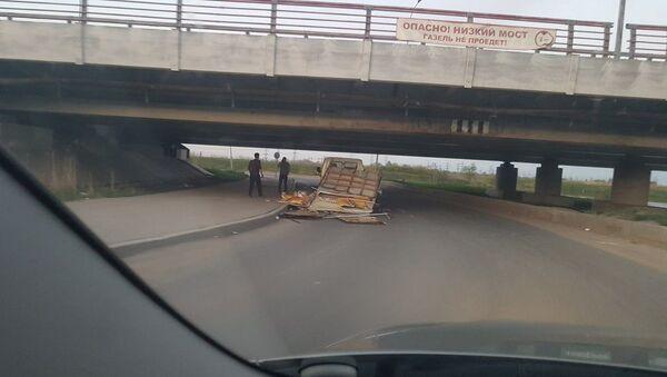 Most nad Lensovetskou cestou v Petrohradu - Sputnik Česká republika