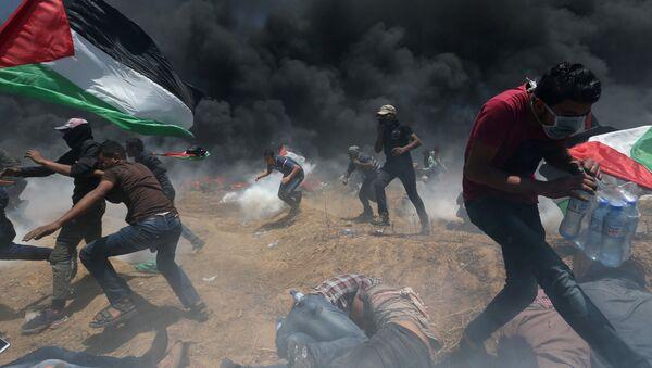 Střety mezi Palestinci a Izraelci - Sputnik Česká republika