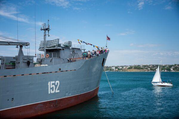 Oslavy 235. výročí Černomořské flotily - Sputnik Česká republika