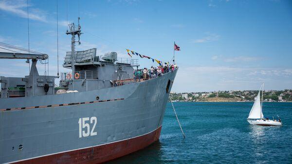 Oslavy 235letí Černomořského loďstva v Sevastopolu - Sputnik Česká republika