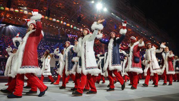 Ruská reprezentace na OH v Soči - Sputnik Česká republika