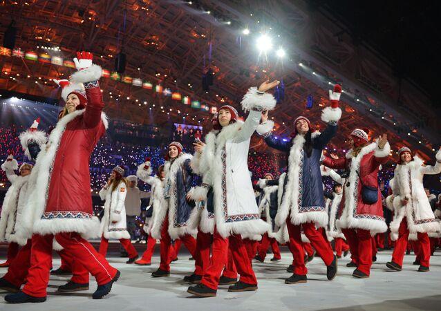 Ruská reprezentace na OH v Soči