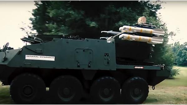 Americké Strykery vyzbrojené Stingery mají bránit Evropu před Ruskem - Sputnik Česká republika