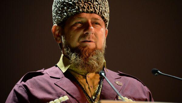 Vedoucí představitel Čečenska Ramzan Kadyrov - Sputnik Česká republika