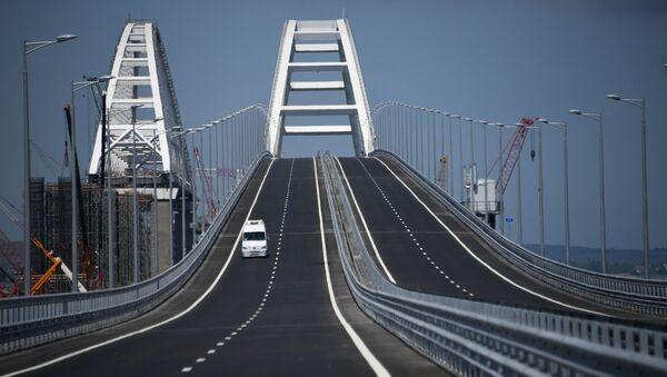 Otevření silniční části Krymského mostu - Sputnik Česká republika