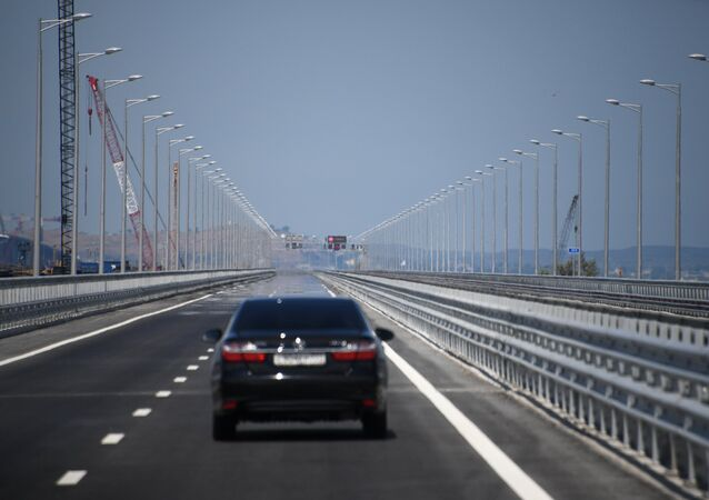 Otevření Krymského mostu