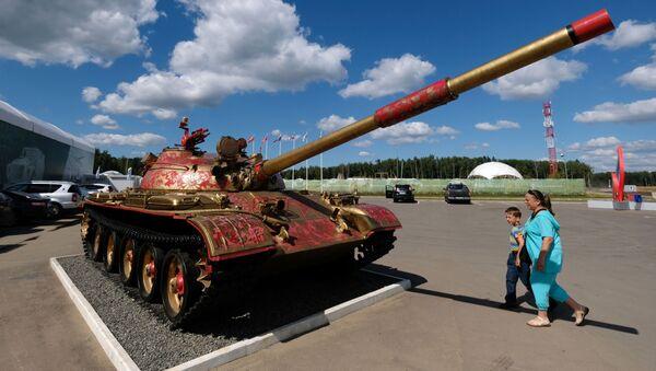 Tank T-62 - Sputnik Česká republika