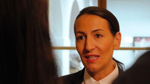 Česká politička Alexandra Udženija - Sputnik Česká republika